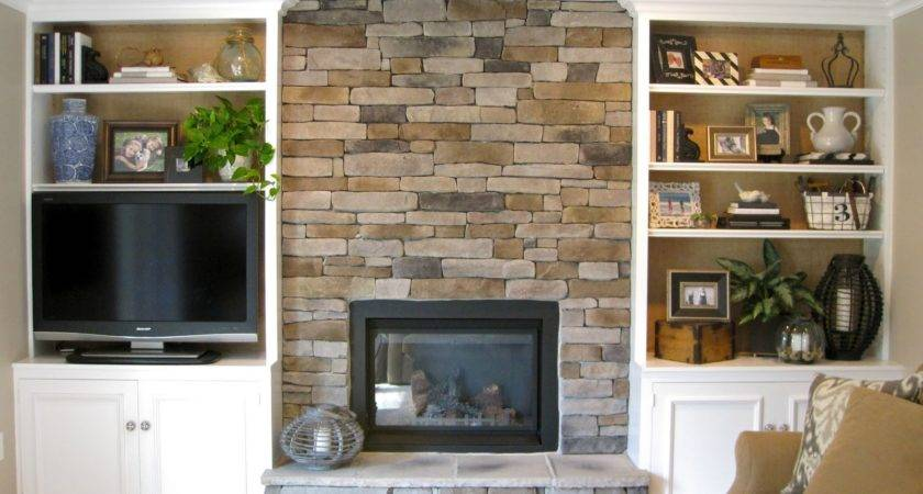 Built Bookcases Fireplace Omahdesigns