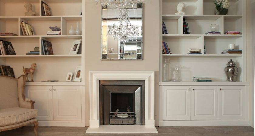 Built Bookcases Ideas Small Space