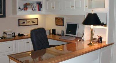 Built Cabinets Traditional Home Office Other