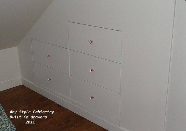 Built Drawers Traditional Bedroom Chicago