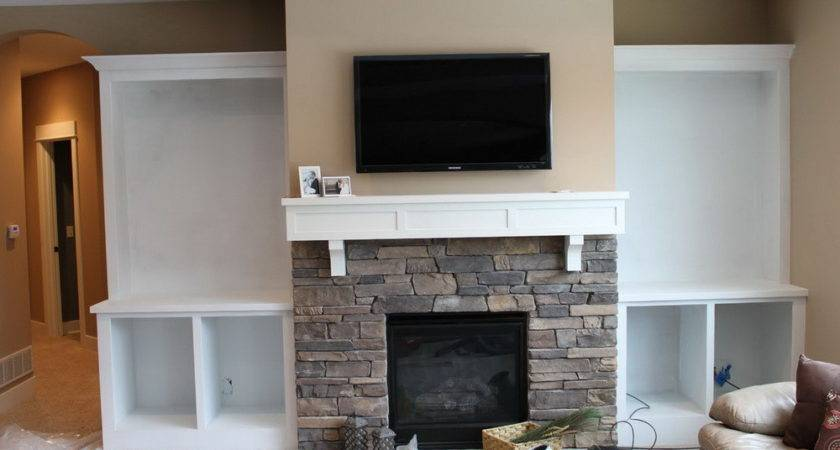 Built Ins Around Fireplace Diy Home Design Ideas