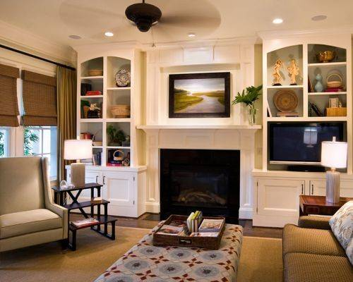 Built Ins Around Fireplace Houzz