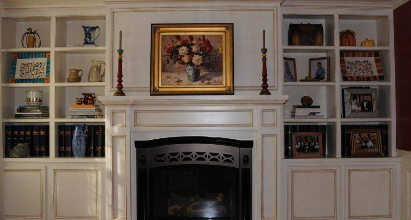 Built Ins Around Fireplace Pinterest Fireplaces
