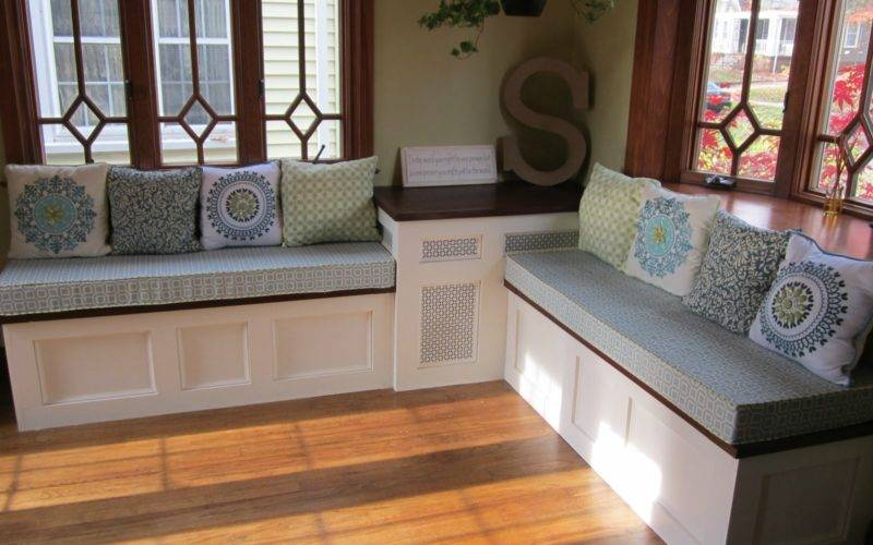 Built Kitchen Bench Design Woodworktips