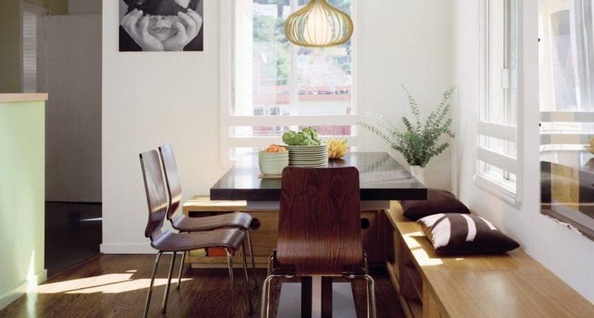 Built Kitchen Bench Seating Dining Room Modern