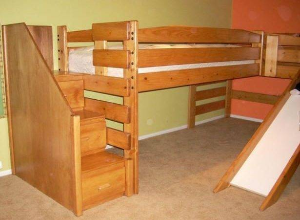 Bunk Beds Stairs Slide Bed