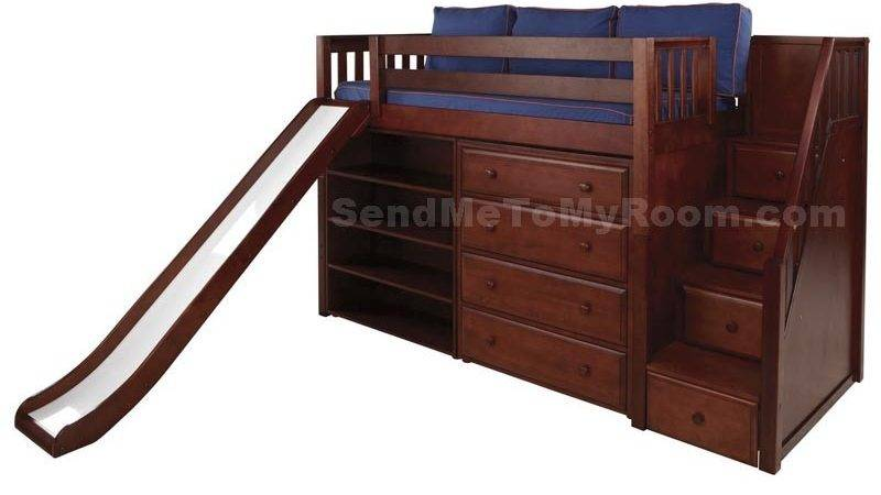 Bunk Beds Stairs Slide