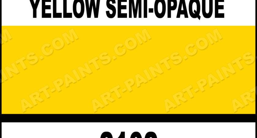 Buttery Yellow Paint Butter Semi Opaque Ceramcoat