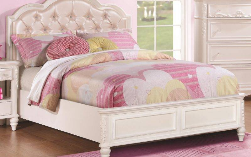 Buy Caroline Bed Diamond Tufted Headboard