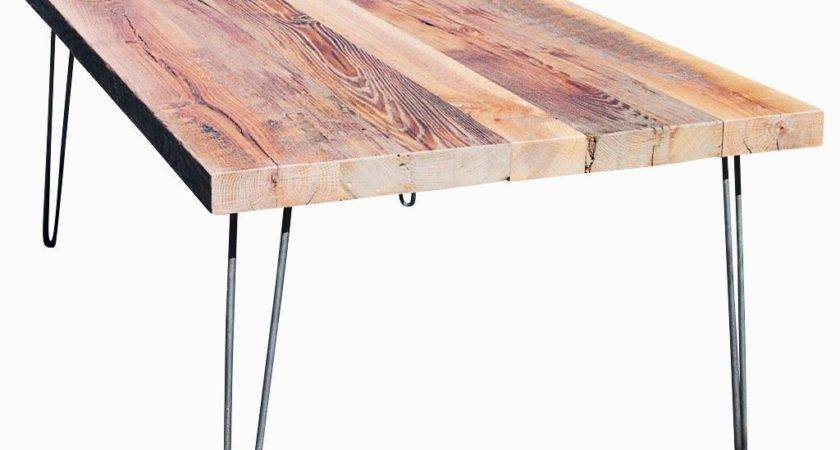 Buy Hand Crafted Reclaimed Wood Coffee Table Hairpin