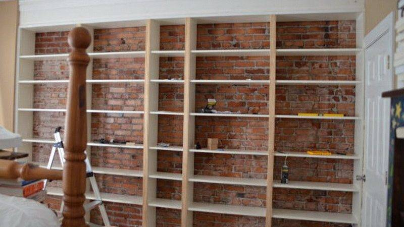Cabinets Shelving Build Built Wood