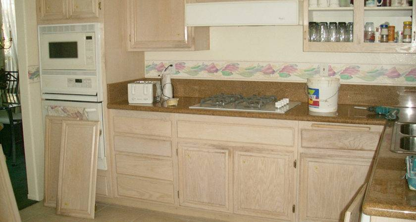 Cabinets Wood Stain White Wash Cabinet