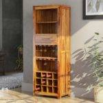 California Contemporary Handcrafted Solid Wood Rustic Tall