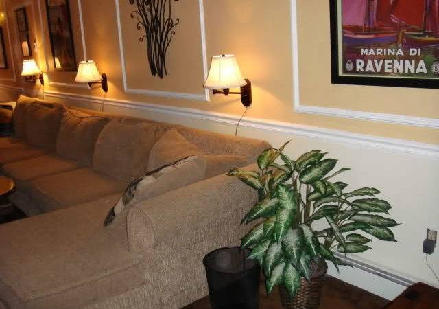 Can Decorate Long Wall Living Room