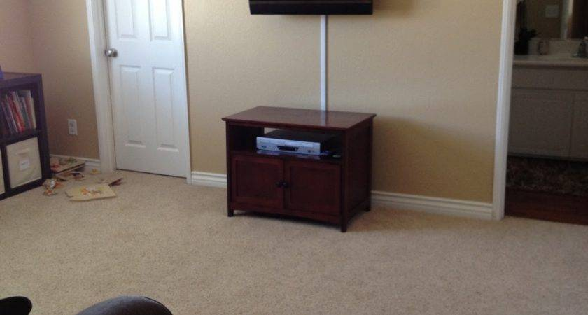 Can Hide Surge Protector Behind Mounted Wall