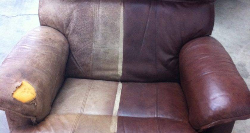 Can Restore Chair Encore Leather Dyeing Cleaning