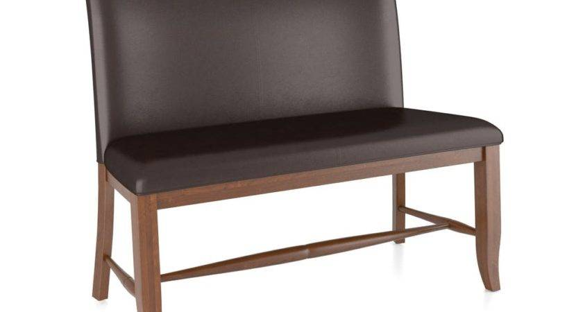 Canadel Dining Room Upholstered Seat Bench Ben Ivy