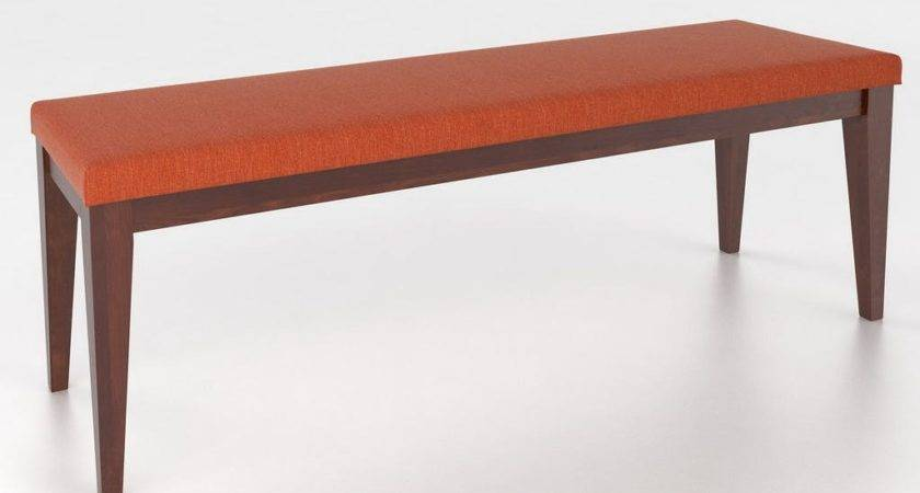 Canadel Dining Room Upholstered Seat Bench Ben