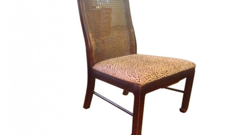 Cane Dining Chairs Back Painted