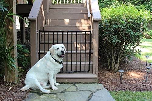 Cardinal Gates Outdoor Safety Gate Black Import All