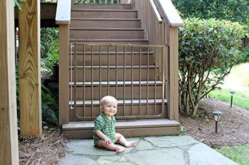 Cardinal Gates Outdoor Safety Gate Brown Import