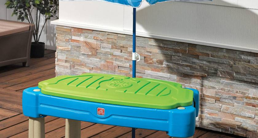 Cascading Cove Sand Water Table Kids Play