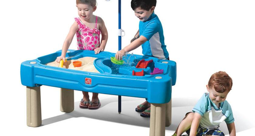 Cascading Cove Sand Water Table Step