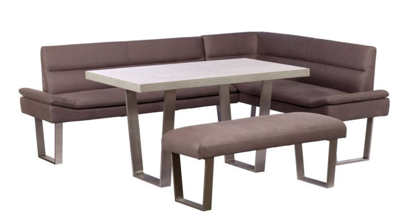 Caspian Left Hand Corner Bench Dining Set