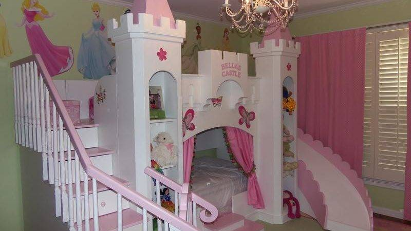 Castle Beds Girls Carolina Dreams Custom Designs