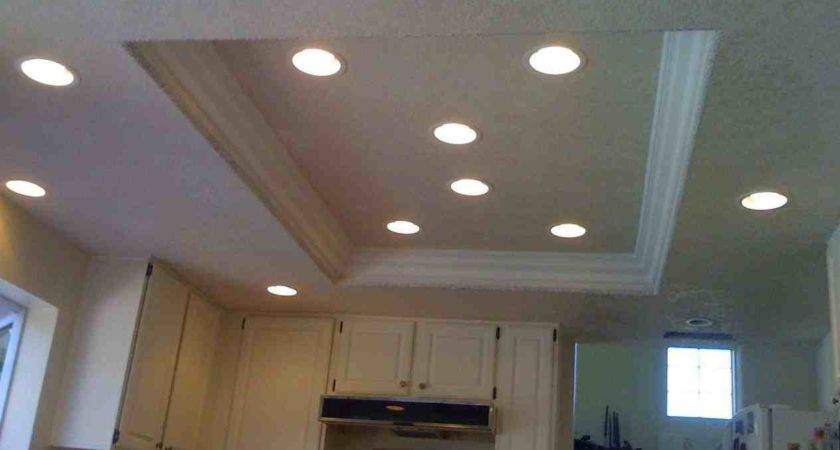 Ceiling Can Lights Recessed Kitchen Best