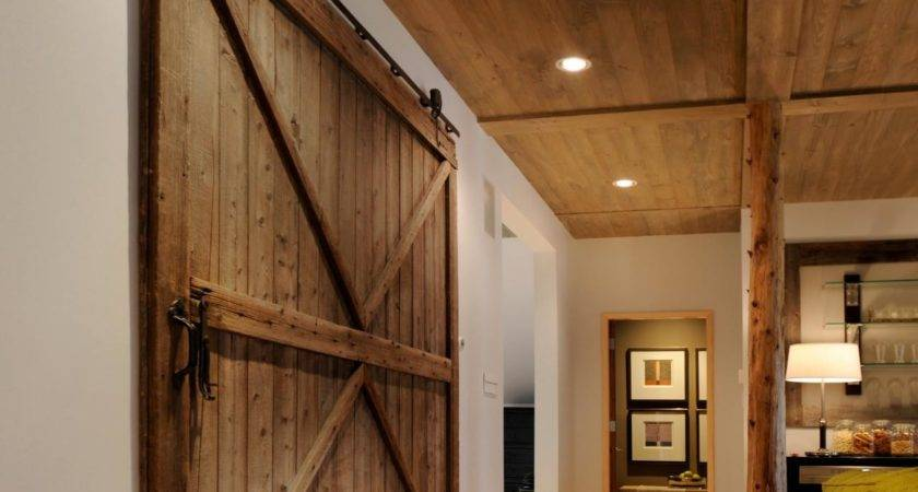 Ceiling Clad Pine Planks Cooled Down