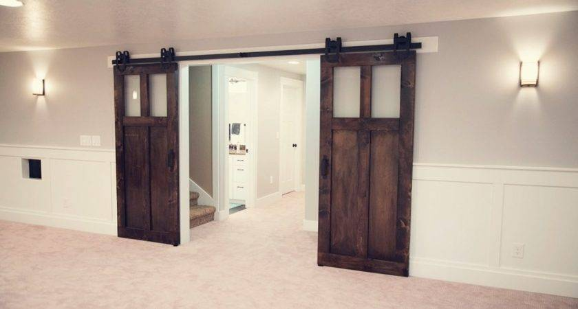 Ceiling Mount Barn Door Hardware Bossandsons
