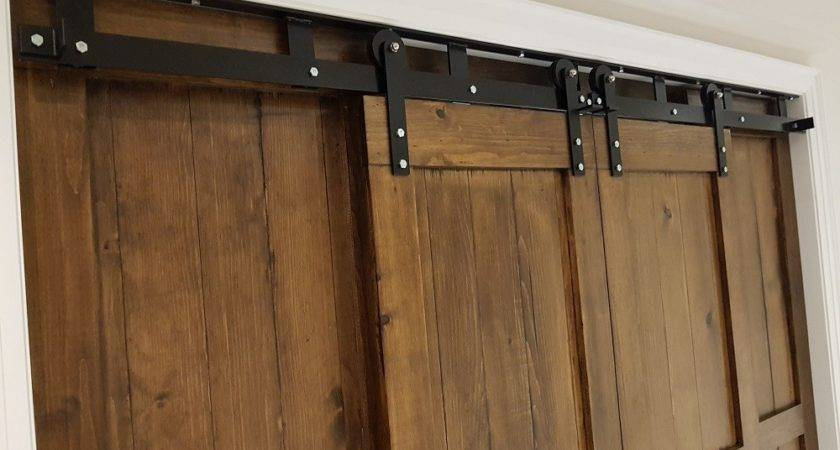 Ceiling Mounted Barn Doors Rebarn Toronto Sliding