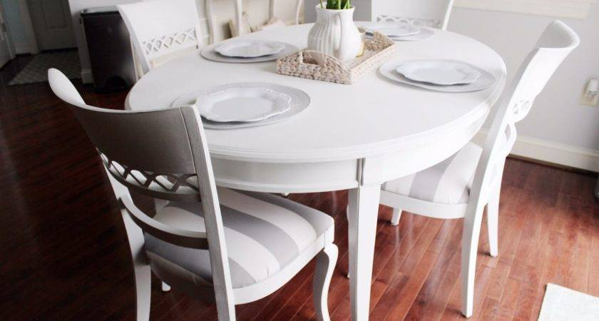 Chalk Paint Kitchen Dining Table Youtube
