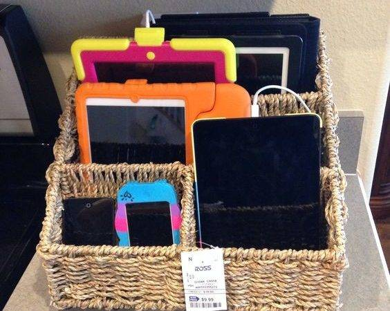 Charging Station Ideas Eliminate Device Clutter