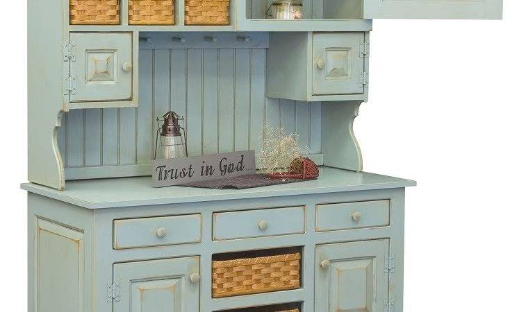 Charming Antique Kitchen Hutch Cabinets