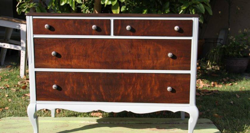 Chateau Revivals Antique Dresser Redo