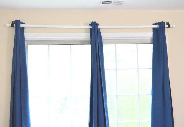 Cheapest Diy Curtain Rod Using Pvc Pipe Hometalk