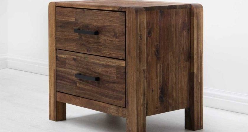 Chester Drawer Wooden Rustic Java Country Farmhouse