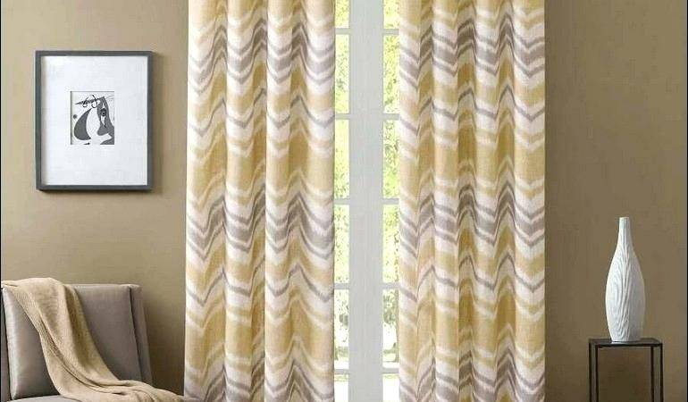 Chevron Drapes Like Item Blue Curtains