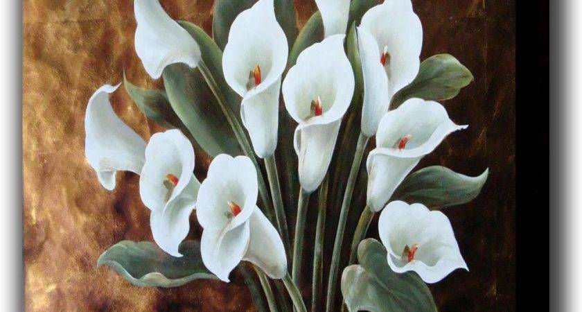 China Decorative Floral Painting New Design
