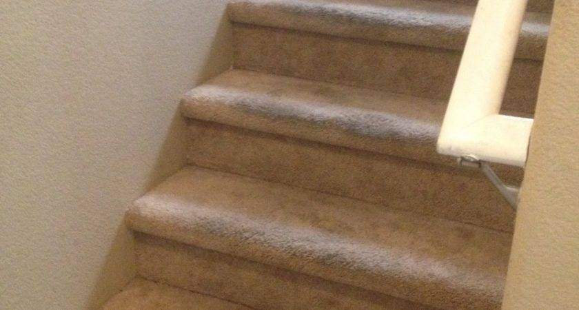 Choosing Contentment Inexpensive Diy Carpet Wood Stairs