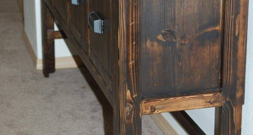 Christiney Crafts Diy Console Table