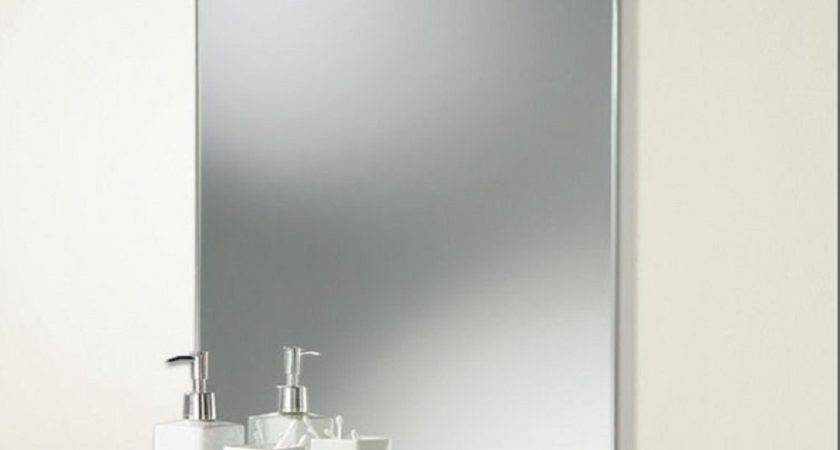 Chrome Bathroom Mirrors Shelves