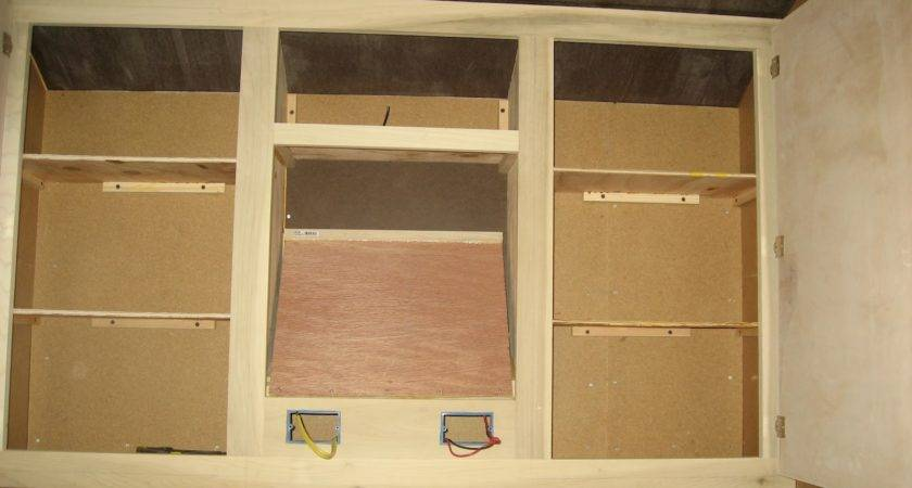 Chuck Teardrop Build Interior Cabinets Complete