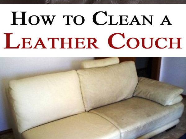 Clean Leather Couch Magical Cleaning