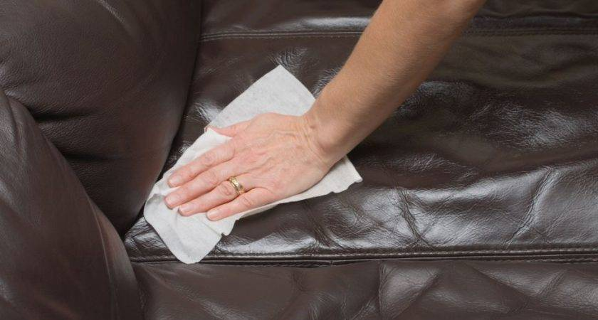 Clean Leather Couch