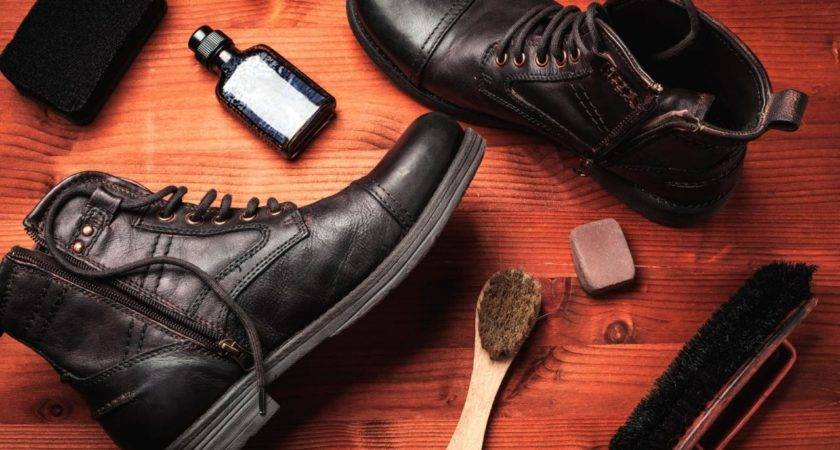 Clean Leather Shoes Boots Diy