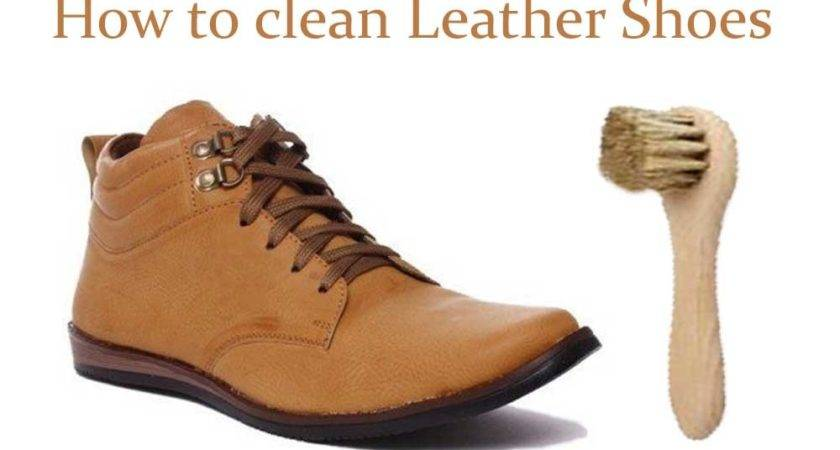 Clean Leather Shoes Shopping