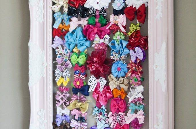 Clever Baby Hair Bow Organization Project Nursery